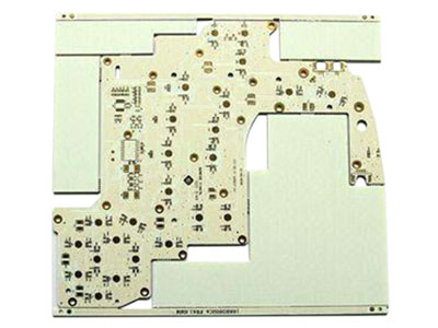 Double Layer Telecommunications Aluminum PCB1