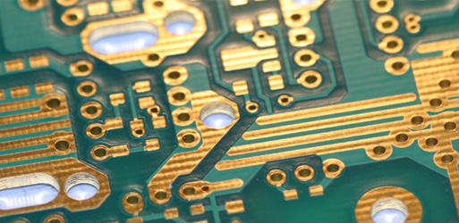 Gold plated printed-circuit-board